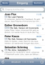 iPhone live: Mail from Jun 17 18:58:33