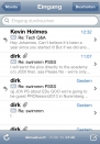 iPhone live: Mail from Jun 25 21:30:54